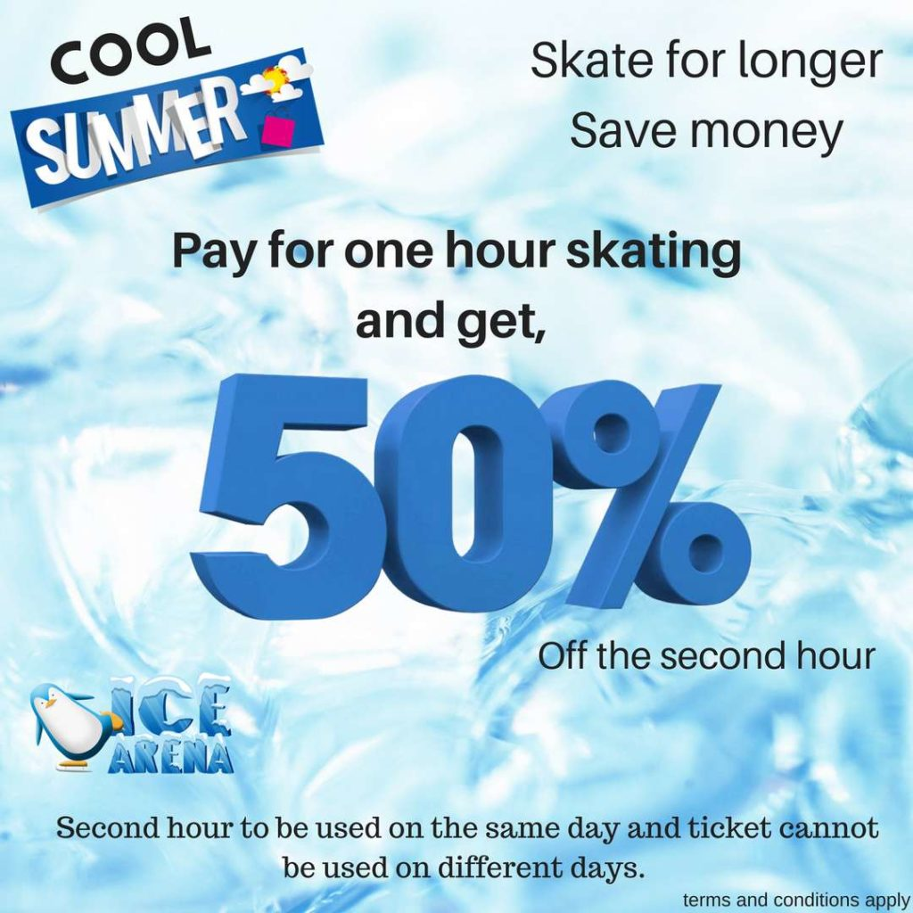 Ice Arena Phuket cool summer promotion