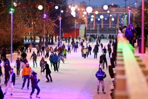 Gorky Park Moscow Ice Skating Rink Ice arena Phuket