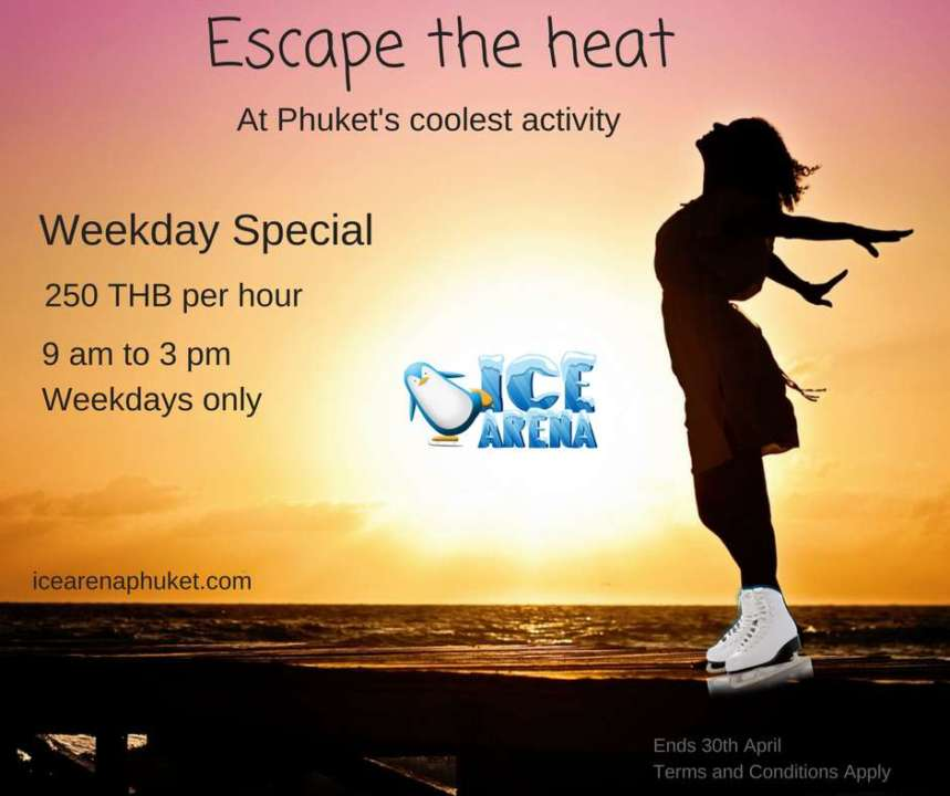 Ice Arena Phuket Promotion